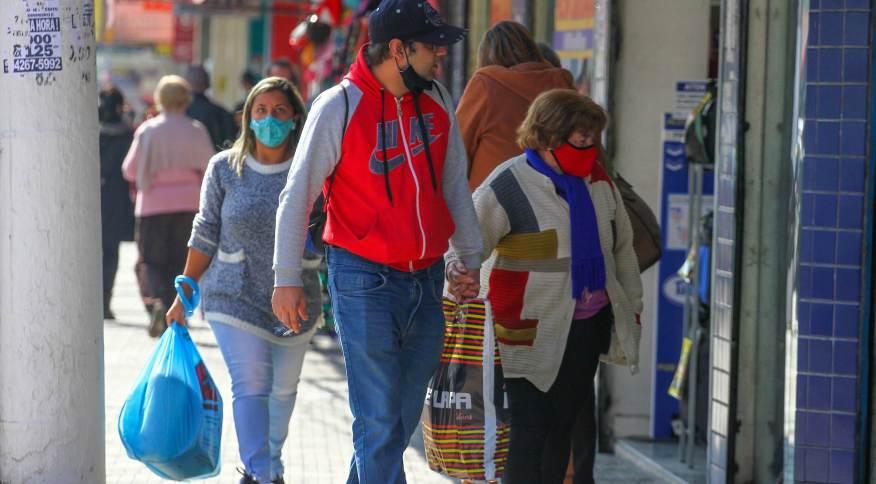 Movimento de consumidores na Grande São Paulo, na tarde de segunda-feira, 2 de agosto