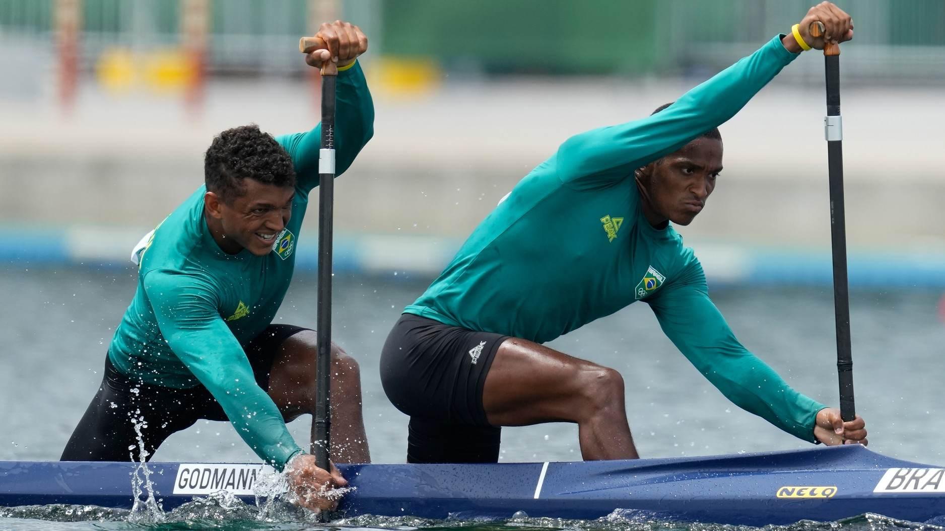 Isaquias e Jacky, da canoagem, nas quartas de final das Olimpíadas