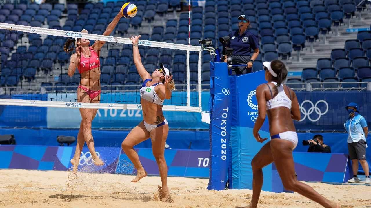 Rebecca e Ana Patrícia, do vôlei de praia