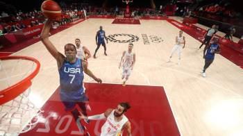 Time de Durant e Lillard chegou a estar 10 pontos atrás, mas virou contra equipe de Gasol; lenda argentina foi superada em possível último jogo da carreira
