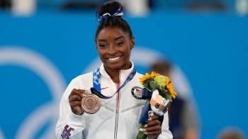 Ginasta dos EUA, que ficou com o bronze na final da trave, afirma que disputou prova 'por ela mesma' e que valorizará conquista por muito tempo