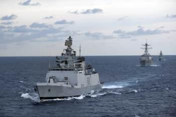 Iniciativa de série de exercícios que ocorrerão por dois meses é feita em conjunto com EUA, Japão e forças australianas