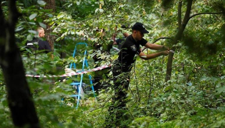 Local onde foi encontrado o corpo de Vitaly Shishov