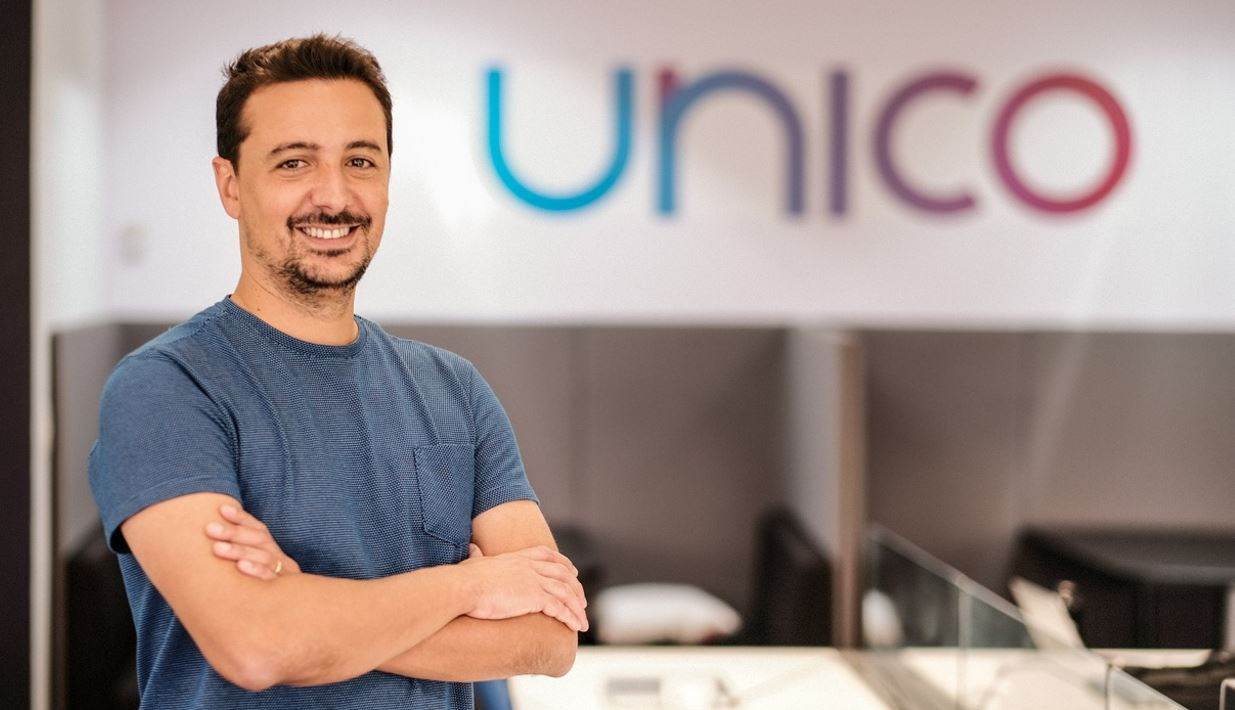 Diego Martins, presidente da startup unico.