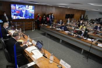 Grupo majoritário da comissão se reuniu neste domingo (12), por videoconferência, e definiu ajustes na agenda para os últimos dias de trabalho