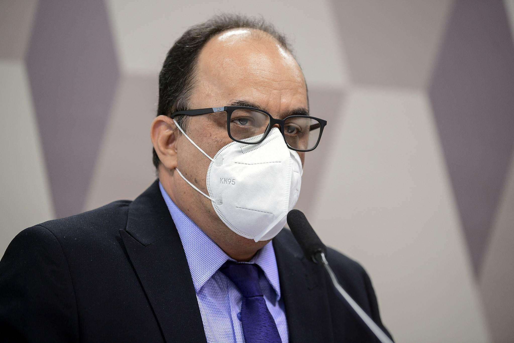 Reverendo Amilton Gomes de Paula na CPI da Pandemia