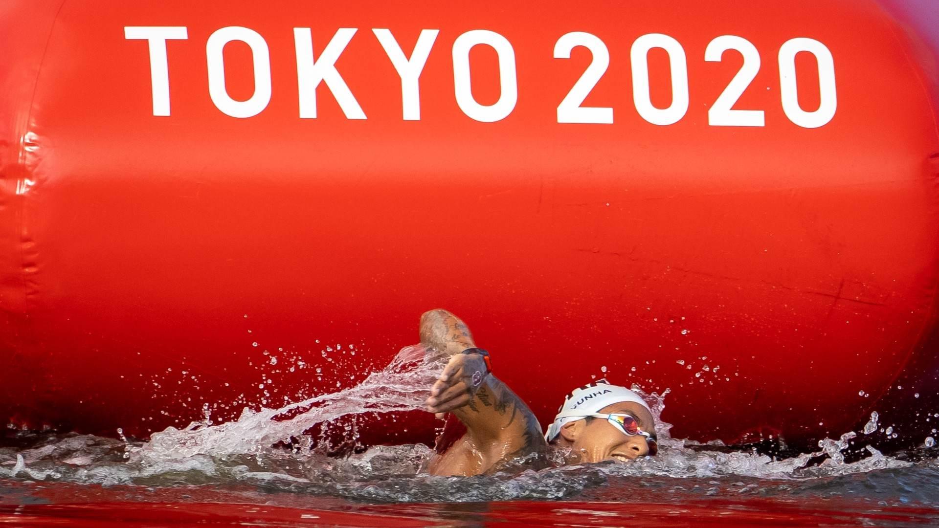 Ana Marcela, brasileira da maratona aquática nos Jogos Olímpicos