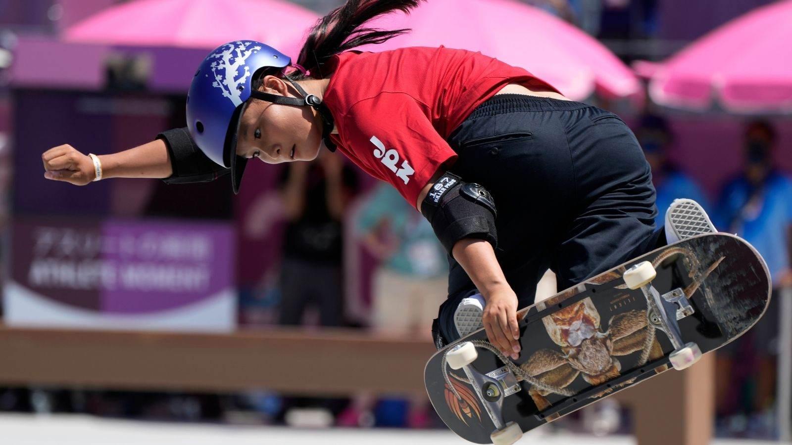 Sakura Yosozumi compete nas Olimpíadas de Tóquio