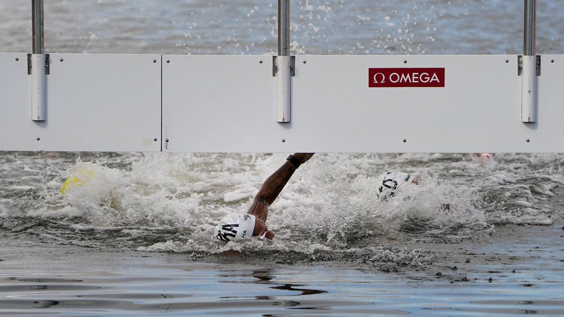 Ana Marcela Cunha, campeã da maratona aquática nas Olimpíadas