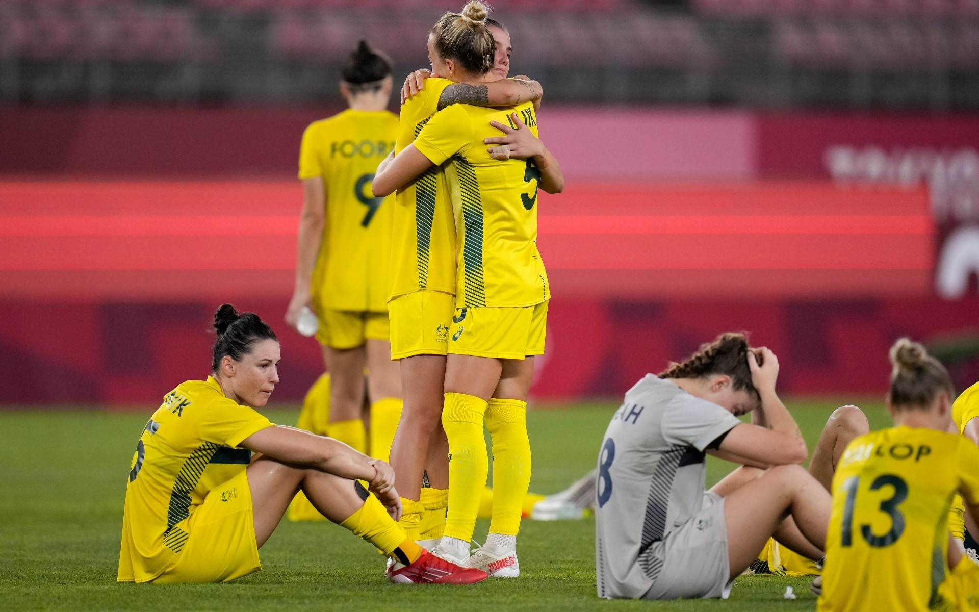 Austrália fez boa campanha em Tóquio, mas acabou sem medalha no futebol feminino