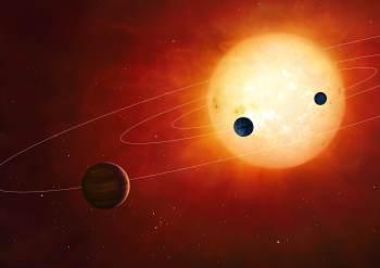 De acordo com o estudo, pode haver até cinco planetas em órbita da estrela, um deles potencialmente habitável