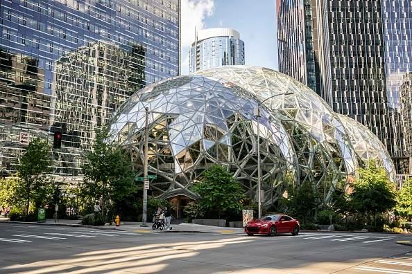 Sede da Amazon, em Seattle, Washington