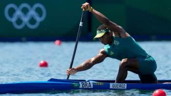 Brasileiro terminou no quarto lugar na competição por duplas, mas agora é um dos candidatos ao pódio na competição individual
