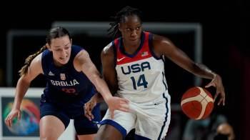 As atuais campeãs europeias não foram páreo para as americanas, invictas há 53 jogos nas Olimpíadas