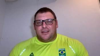 Brasileiro que ficou a uma posição do pódio no arremesso de peso nas Olimpíadas de 2020 já retomou treinamento e agradeceu apoio de fãs após a prova
