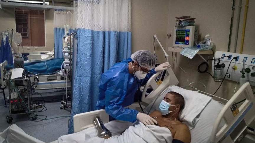 Paciente com coronavírus em hospital do Rio de Janeiro