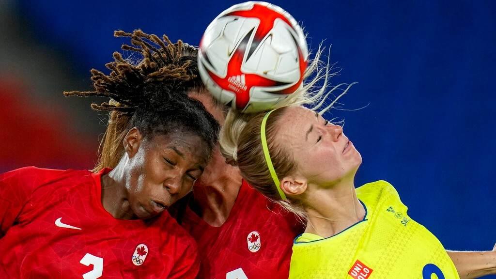 Canadá e Suécia fizeram jogo equilibrado na disputa por ouro no futebol feminino