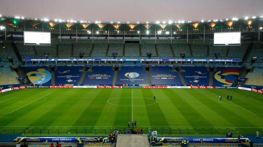Estádio do Maracanã na final da Copa América