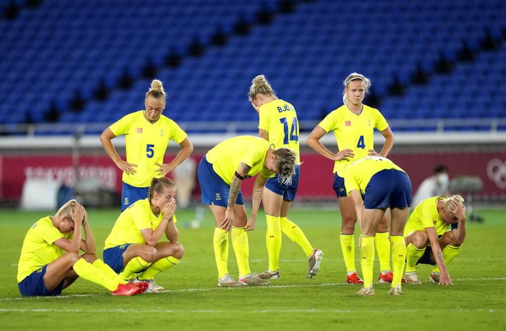 Time mais consistente do torneio olímpico, Suécia foi derrotada nos pênaltis