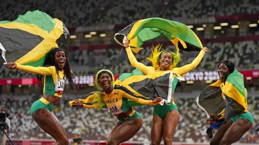 Velocistas da Jamaica acreditam em legado deixado para novas gerações de corredoras do país