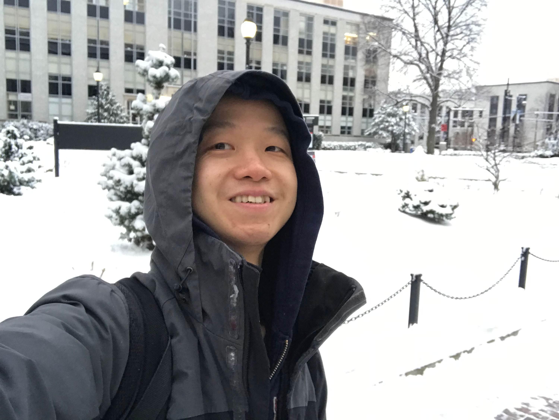 estudante em Boston