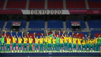 Comitê olímpico afirmou que tomará medidas contra a entidade que controla o futebol brasileiro após o episódio na final do futebol em Tóquio