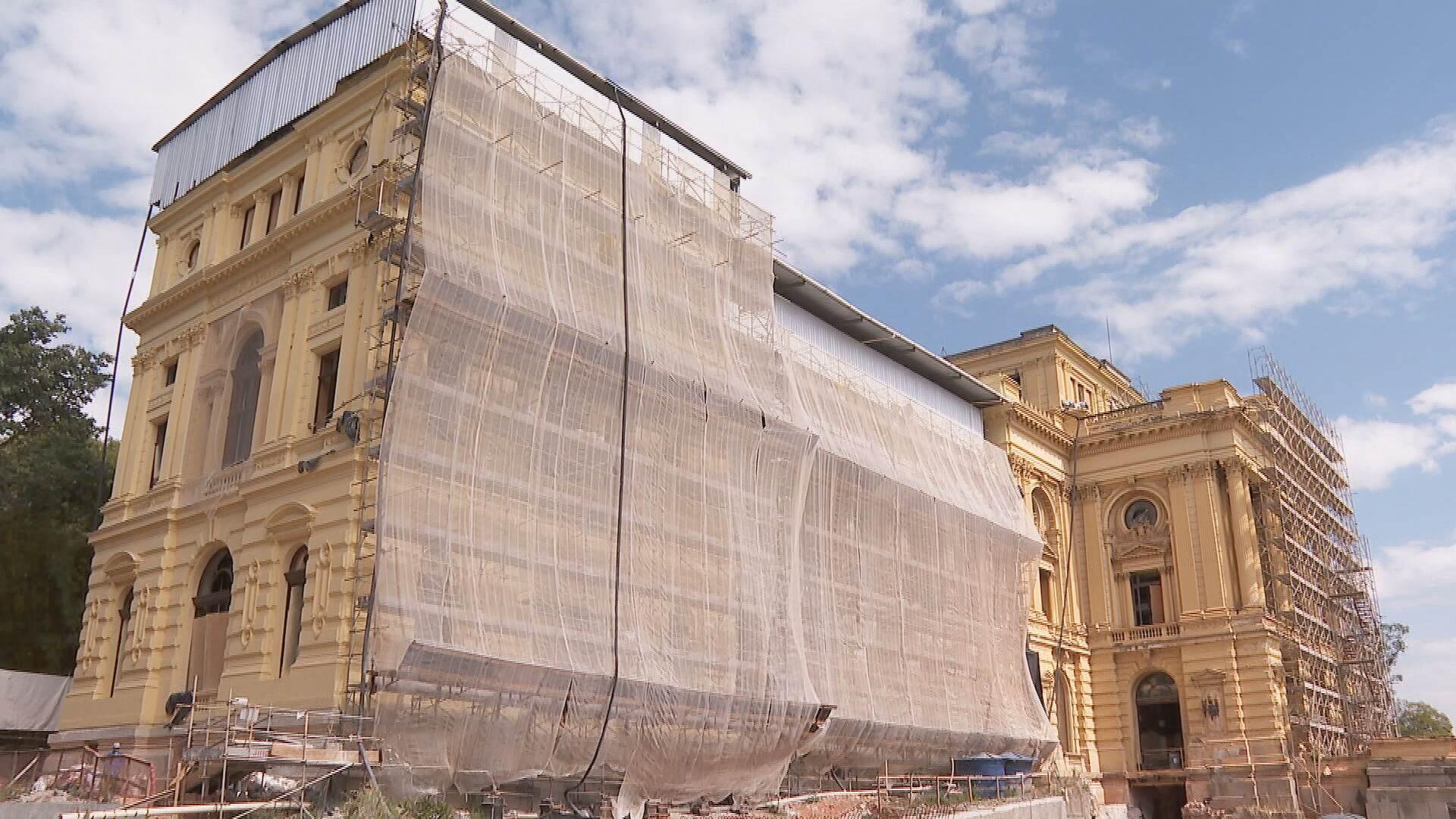 Museu do Ipiranga prepara reabertura em 2022 (07.Ago.2021)