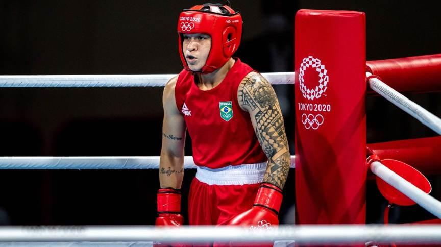 Beatriz Ferreira é medalhista olímpica pelo boxe brasileiro