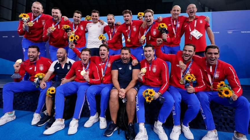 No polo aquático masculino, Sérvia conquistou última medalha de ouro disputada nas Olimpíadas 2020