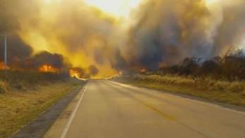 Fogo se espalhou entre as cidades de Roboré e San Matías, a oeste do estado do Mato Grosso