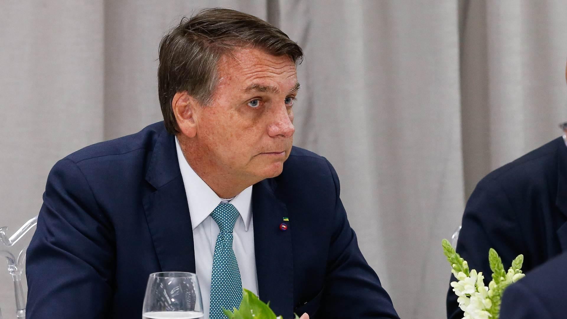 Encontro de Bolsonaro com empresários