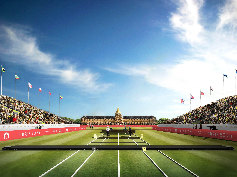 Imagem com projeção das Olimpíadas de 2024