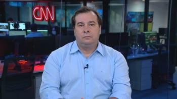 Ex-presidente da Câmara, o deputado Rodrigo Maia deu entrevista à CNN nesta segunda-feira (9)