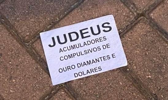 cartaz antissemita