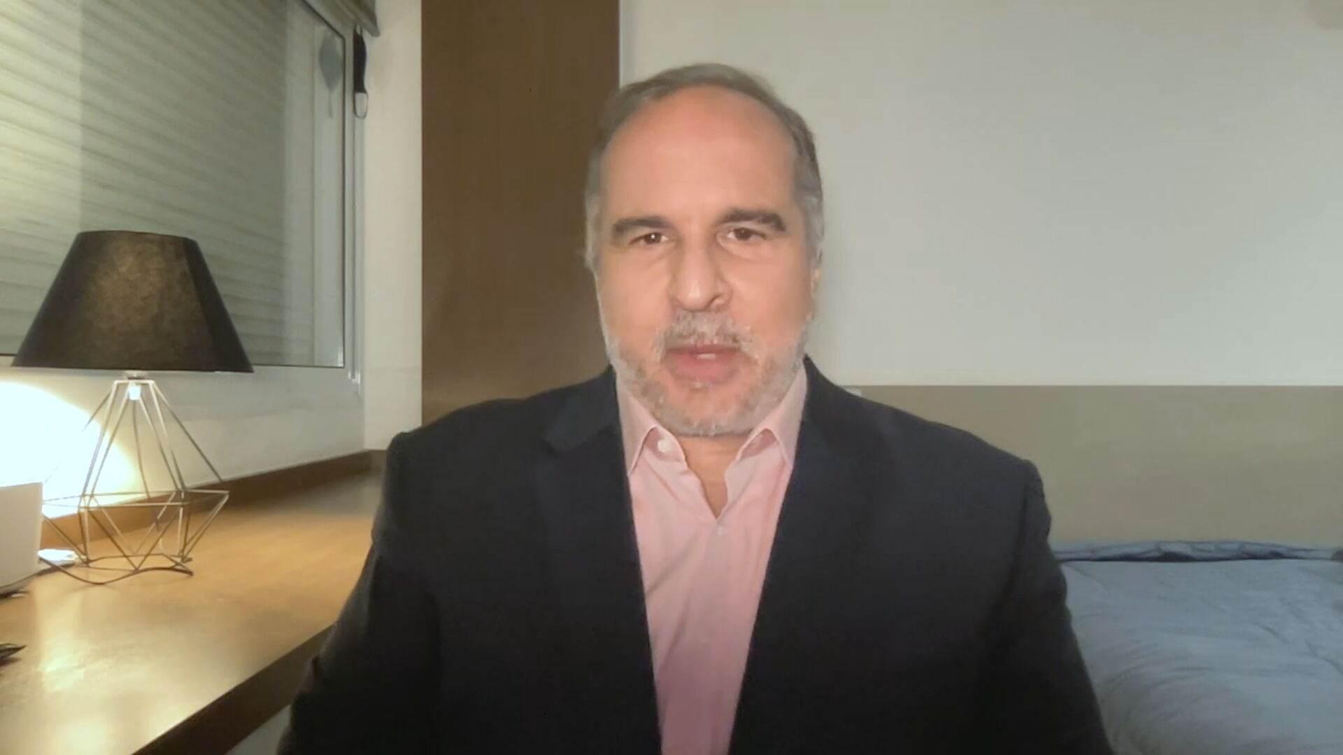 O cientista político Murillo de Aragão em entrevista à CNN