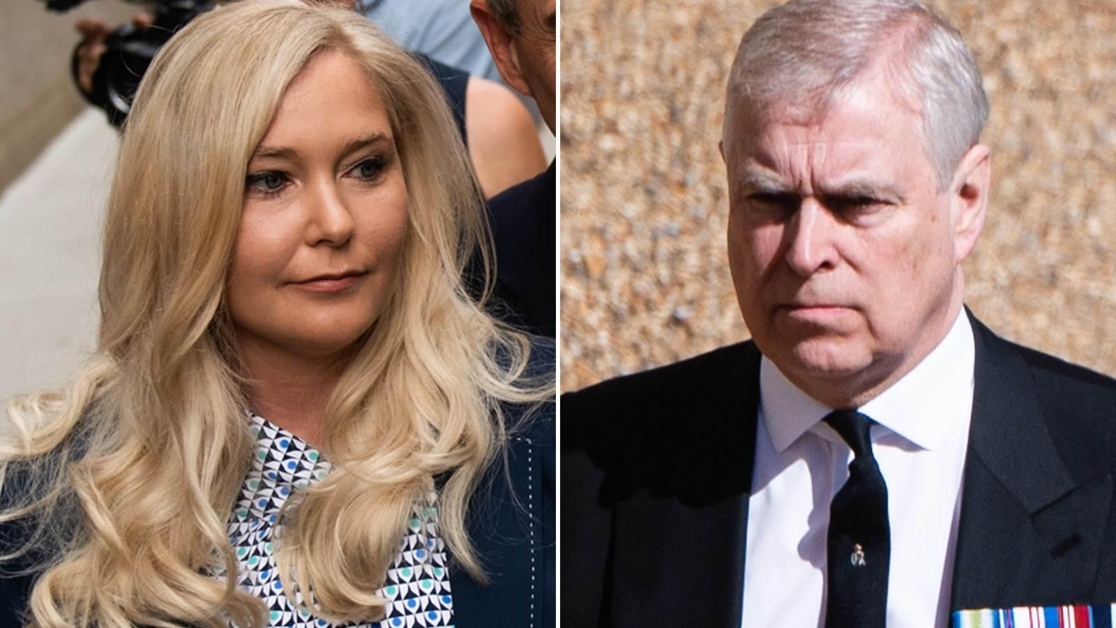 Virginia Roberts Giuffre abriu um processo contra o príncipe Andrew