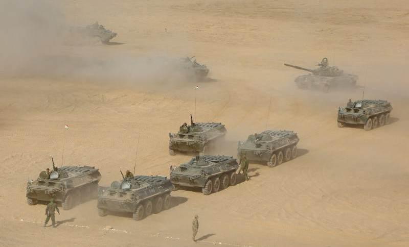 Rússia, Uzbequistão e Tajiquistão fazem exercício militar perto do Afeganistão (10/08/2021)