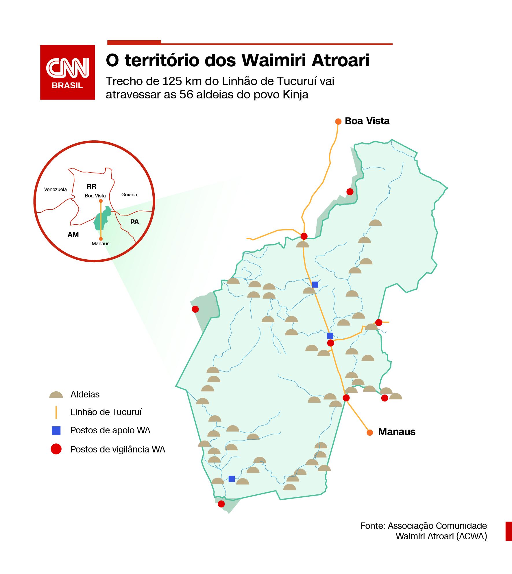 Território dos Waimiri Atroari