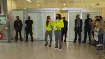 Time desembarcou no Aeroporto Internacional de São Paulo/Guarulhos