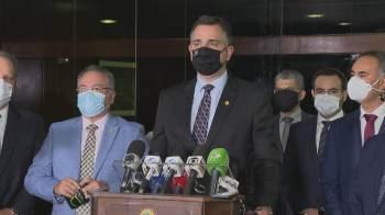 """Pacheco afirmou que decisão da Câmara em relação ao voto impresso torna a questão """"definitiva e resolvida"""""""