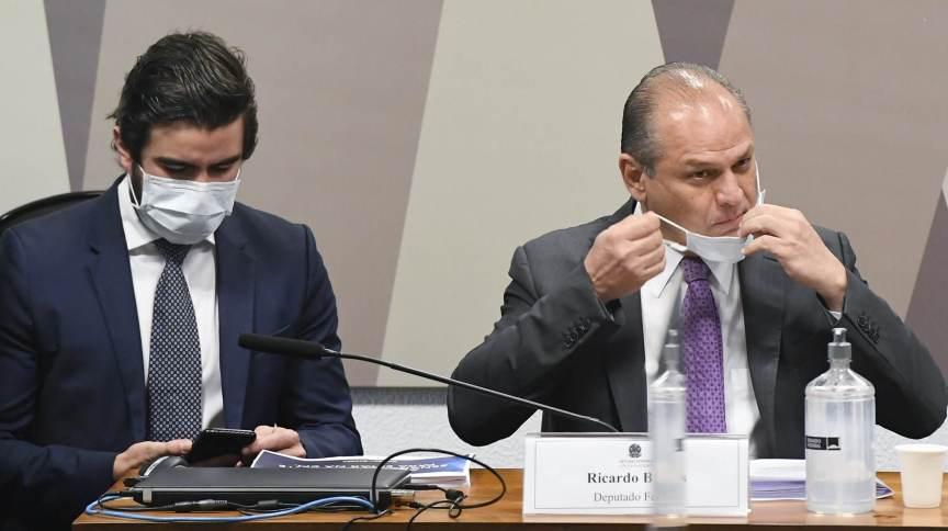 Ricardo Barros depõe na CPI da Pandemia