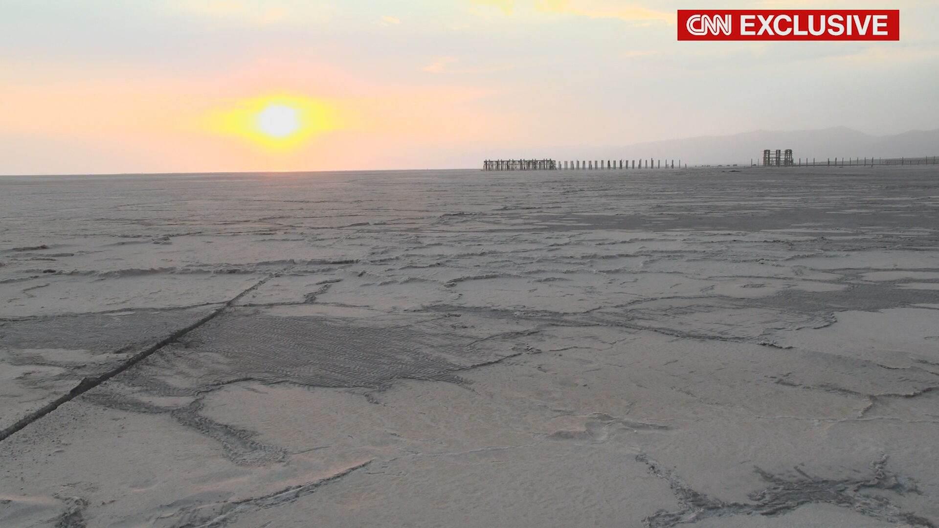 Aquecimento global está evaporando Lago Urmia, no Irã