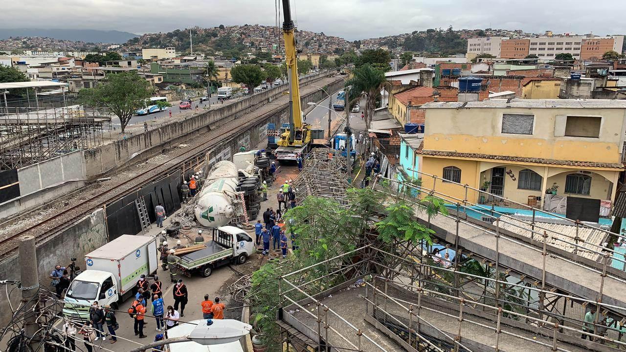 Resgate acidente metrô/Bruna Carvalho