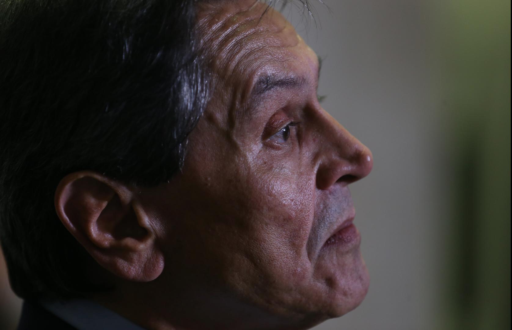 O presidente do PTB, Roberto Jefferson