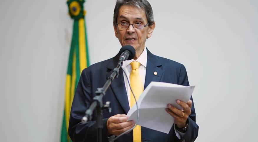 O ex-deputado Roberto Jefferson, presidente nacional do PTB