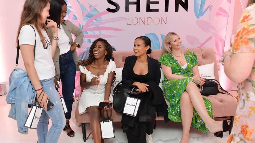 Evento da Shein, em 2019, reúne influenciadoras e convidadas