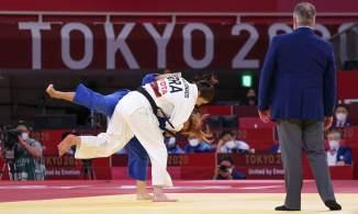 Também no judô, Meg Emmerich conquistou a medalha de bronze, derrotando Altantsetseg Nyamaa, da Mongólia