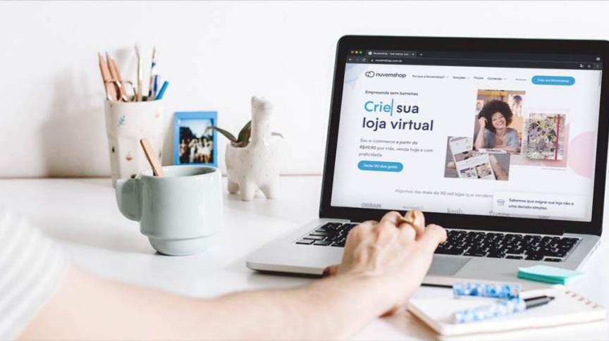 A Nuvemshop tem mais de 90 mil lojistas em sua plataforma, a maior parte dos varejistas é brasileira