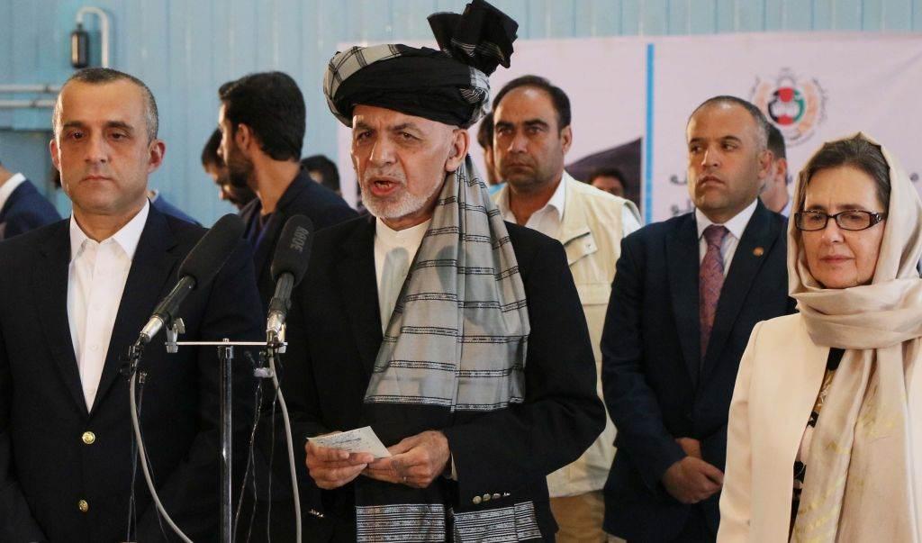 Amrullah Saleh e Ashraf Ghani