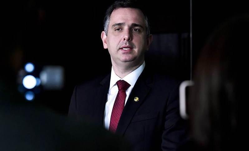 Presidente do Senado, senador Rodrigo Pacheco (DEM-MG)